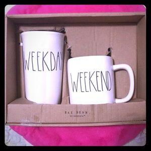 Travel & Home Mug Set